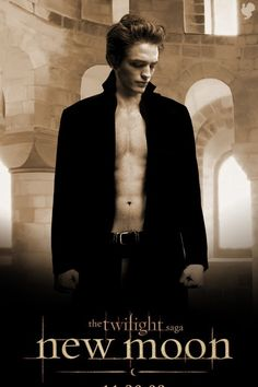 Picture: Poster for 'The Twilight Saga: New Moon.' Pic is in a photo gallery for 'The Twilight Saga: New Moon' featuring 133 pictures. Twilight Saga New Moon, Twilight Series, Twilight Movie, Twilight Pictures, Twilight Edward, Edward Bella, Edward Cullen, Nikki Reed, Breaking Dawn