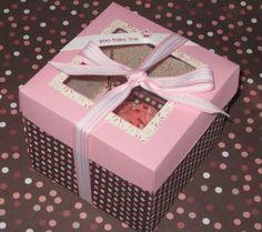Create Me Pink: Valentine's Day Cupcake Box
