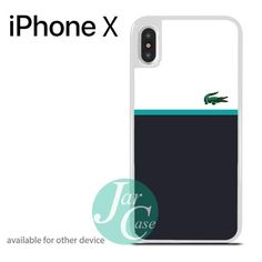 Lacoste Style 1 Phone case for iPhone X