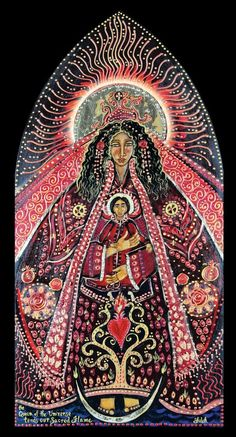 The Black Madonna – Her next appearance is in your heart. Divine Mother, Blessed Mother Mary, Blessed Virgin Mary, Madonna Art, Madonna And Child, Catholic Art, Religious Art, La Madone, Images Of Mary