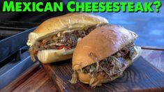 The Baja California Cheesesteak is basically the flavors of Baja Mexico crashing into a Tony Luke's Cheesesteak sandwich from Philly! I love the Philly style cheesesteak sandwich, and I love Baja California flavors, so why not? I grilled up everything using Tony Luke's low n slow technique on the Blackstone Griddle. I crafted this cheesesteak with thin sliced ribeye, shaved peppers, grilled onion and two types of Mexican cheese! Hope you enjoy this video as much as I enjoyed the sandwich!