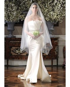 @Romona Keveza   #Spring2013 Legends Bridal Collection  @Martha Stewart Weddings Magazine