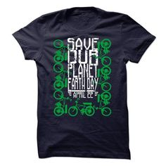 Save our planet. Earth day, April 22, Bike (ver10) - #diy tee #tshirt estampadas. PURCHASE NOW => https://www.sunfrog.com/Holidays/Save-our-planet-Earth-day-April-22-Bike-ver10-29968352-Guys.html?68278