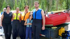 Athabasca Canyon Run Family Rafting Class II Plus Rapids | August 2015