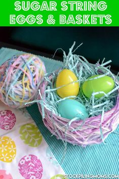 Sugar String Eggs an