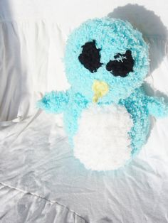 Penguin Fluffiefriend Small by Violet's Silver Lining on Etsy, $10.00