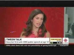 14 year old girl picks fight with bully TV host Kevin O'Leary about the GMO and food labeling debate - and WINS!