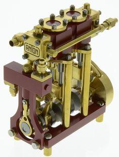 Anton Crystal Marine Steam Engine