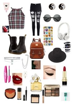 """#72"" by b3ttyw3ldon on Polyvore featuring Glamorous, Dr. Martens, Retrò, MLC Eyewear, Brixton, Accessorize, Aéropostale, French Connection, Wet Seal and Dolce&Gabbana"