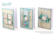 Kerry's Kaszazz Korner       : Heartfelt Patchwork Cards