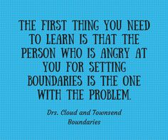 The Narcissist and Boundaries