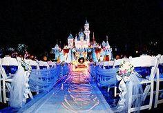 Disney Castle Wedding.. perfect!