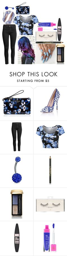 """""""Kayla: October 3, 2016"""" by disneyfreaks39 ❤ liked on Polyvore featuring Kate Spade, Paper Dolls, Bling Jewelry, Estée Lauder, Guerlain, H&M and Maybelline"""