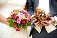 Grappige foto als je in de herfst gaat trouwen