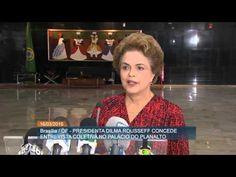 Experiência de Lula vai fortalecer o governo, afirma Dilma Rousseff