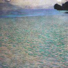 Gustav Klimt - Am Attersee