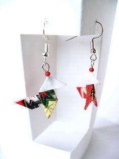 Le chouchou de ma boutique https://www.etsy.com/fr/listing/569378873/boucles-doreilles-origami-cocotte-en