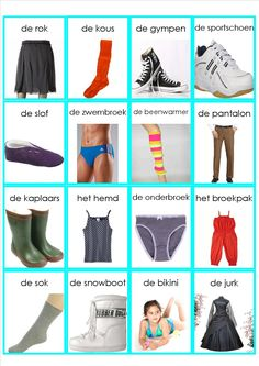 kleding memorie Learn Dutch, Learn English, Dutch Language, Vans Top, Yes To The Dress, Knowledge, Learning, School, Netherlands
