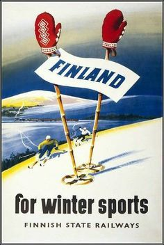 Finland travel vinatge - Google-haku