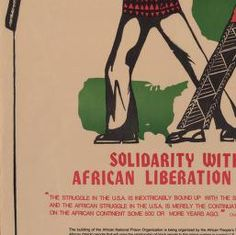 Political Posters, Labadie Collection, University of Michigan: From Africa to Attica