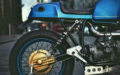 The thinking man's Airhead | Inazuma café racer