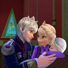 Frost Family, Jack, Elsa and firstborn daughter, Ingrid.