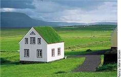 Iceland Green Roof - traditional