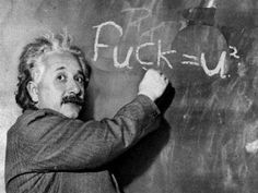 Oh is this the Einstein club you're in? Yeah, ok, dumb dumb, more like the Baby…