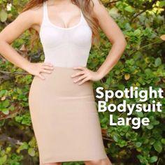 Selling this 💕⭐️Spotlight Bodysuit Nude Large⭐️💕 on Poshmark! My username is: hacsince91. #shopmycloset #poshmark #fashion #shopping #style #forsale #Lux #Tops