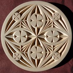 Plain Edge Flat Plate- by Marty Leenhouts, https://www.MyChipCarving.com