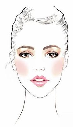 Pictures of makeup artist illustration - Fashion Illustration Face, Makeup Illustration, Illustration Mode, Illustrations, Face Sketch, Fashion Figures, Fashion Design Sketches, Fashion Face, Face Art