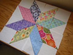 Super stars quilt - (LeMoyne Star) - I'd love this in my dark primitive colors