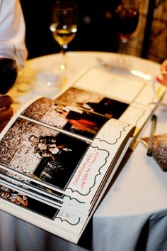 Instant Guest Book! Love!  Photography by photopinknyc.com