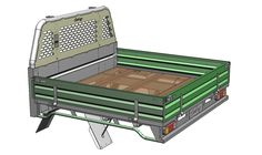 Holden Colorado Dual Cab Sovereign Steel Tray Powder Coated White ...