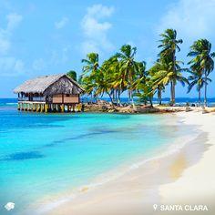 Santa Clara. Arraiján, Panamá. Un destino de arenas blancas y aguas cristalinas, donde podrás dar paseos en bicicleta o admirar la belleza de este paraíso desde una hamaca. Si buscar tranquilidad, este lugar es el ideal para descansar a la orilla del mar.