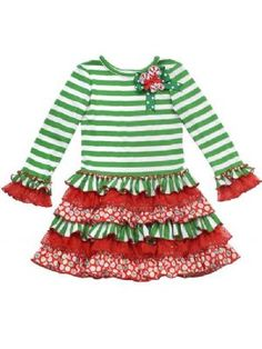 Girls Christmas DressPersonalize It!4 to 6X available!Now in Stock!