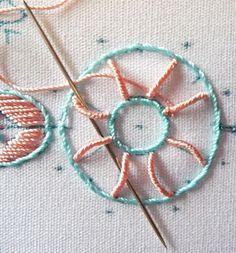 RosalieWakefield-Millefiori: bordado brasileño - Técnicas de puntada que trabajan para mí