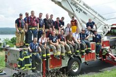 Featured Volunteer Firefighters: Ulster Hose of Kingston / Ulster, NY. Nominate your volunteer #firehouse in Johnsonville's Best of US #contest! #Hometown #Heroes