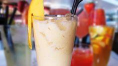 Mango lassi Mango Lassi, Smoothies, Juice, Beverages, Ice Cream, Food, Smoothie, No Churn Ice Cream, Gelato