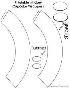 cupcake wrappers vector - Buscar con Google