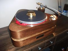 LENCO L75 turntable with custom TWO TIERED Plinth