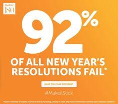 Resolutions #MakeItStick