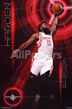Houston Rockets - James Harden 2015 People Poster - 56 x 86 cm