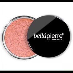 BELLAPIERRE Mineral Blush Desert Rose 6G NEW Net weight 6 grams/0.21 US OZ. Brand New never been opened. RETAIL VALUE $30 Makeup Blush