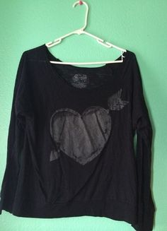 Buy my item on #vinted http://www.vinted.com/womens-clothing/other-tops/15716700-heart-long-sleeve