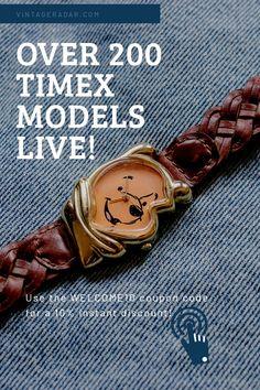 Vintage Watches Women, Antique Watches, Vintage Ladies, Watches For Men, Gentleman Watch, Timex Watches, Nato Strap, Vintage Bohemian, Disney