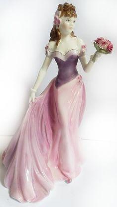 Beautiful Royal Worcester Figure Jessica - Summer Romance.
