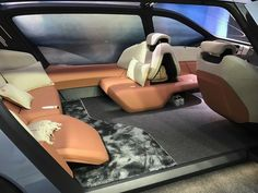 This electric luxury car lets you snooze while it zooms