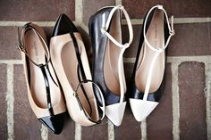 Something about this shoe? #flats #ankleStraps #pointy