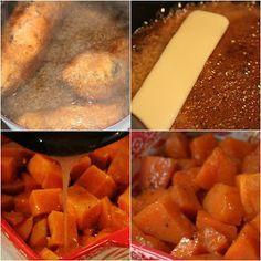 Deep South Dish: Southern Candied Yams (Sweet Potatoes)